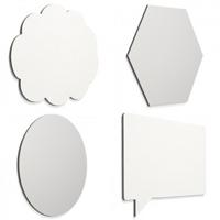 Frameless whiteboard 'shape'