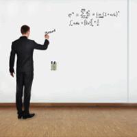 Whiteboard wandpaneel