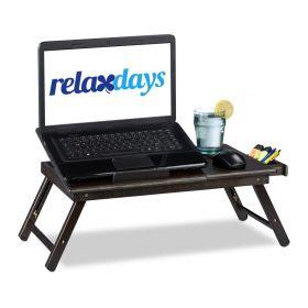 laptoptafel bruin bamboe