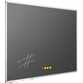 Krijtbord Antraciet Grijs, 120 x 180 cm
