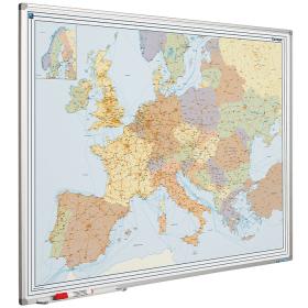 Whiteboard landkaart - Europa