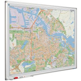 Whiteboard landkaart - Amsterdam