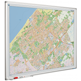 Whiteboard landkaart - Den Haag