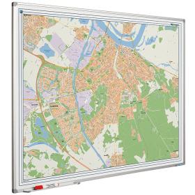 Whiteboard landkaart - Nijmegen