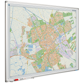 Whiteboard landkaart - Groningen