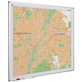 Whiteboard landkaart - München