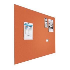 Prikbord bulletin - Zwevend - 60x90 cm - Oranje 1