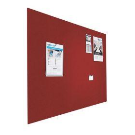Prikbord bulletin - Zwevend - 90x120 cm - Rood 1