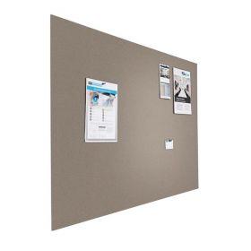 Prikbord bulletin - Zwevend - 120x200 cm - Grijs 1