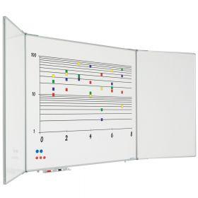 inklapbaar whiteboard 60x90 cm
