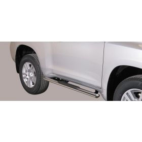 Sidebars Toyota Landcruiser 150 3-deurs - Ovaal