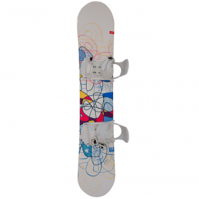 Generics Flair snowboard met bindingen 150 cm - All-mountain