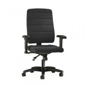 Prosedia bureaustoel Yourope 3 - Hoge rugleuning - Zwart