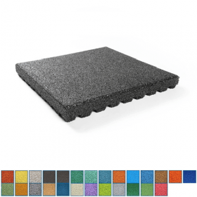 rubber tegel epdm - 70 mm