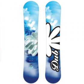 Dub Sola all-mountain snowboard 154 cm