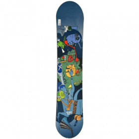 Crazy Creek kids snowboard all-mountain 128 cm