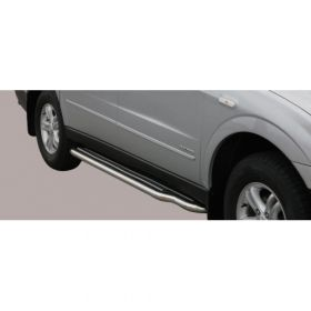 Sidebars Ssangyong Actyon Sport Extra long Sidesteps