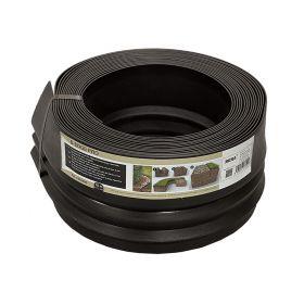 opsluitband op rol zwart 10 meter
