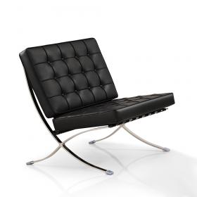 barcelona chair zwart