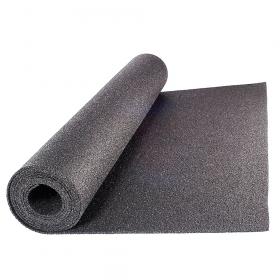 Beschermmat *standaard* - rol van 12,5 m2 - Dikte 5 mm - Zwart granulaat