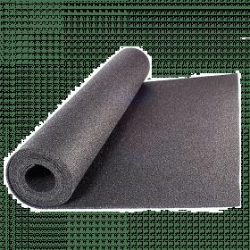 Beschermmat *standaard* - rol van 12,5 m2 - Dikte 8 mm - Zwart granulaat