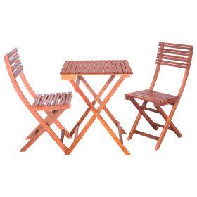 SenS-Line St. Tropez bistro set - Acacia hout - Bruin