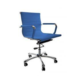 bureaustoel valencia blauw