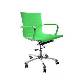 design bureaustoel limegroen