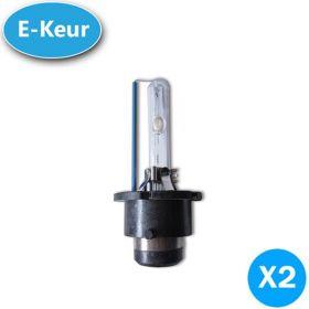 Xenon lampen D4S 5000K 25% UP E-Keur