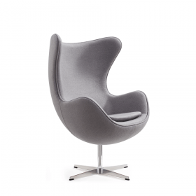 Egg Chair fauteuil Grijs