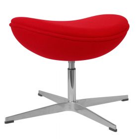 Egg chair voetenbank / hocker - Rood