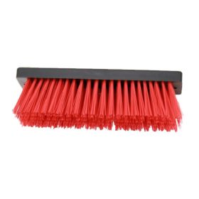 FloorMAX professionele voetenveger vervangingsborstel - Rood