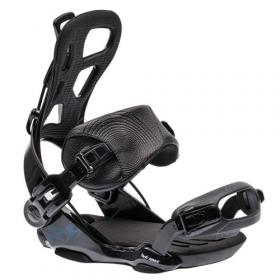 RAGE FT720 Black - snowboard bindingen - FASTEC - maat M