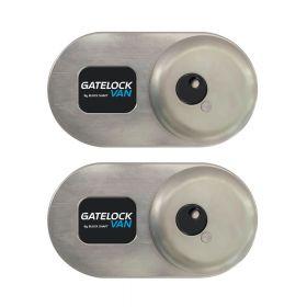 Beveiligingsslot voor bakwagens Gatelock L *Slamlock* - Set 2 stuks