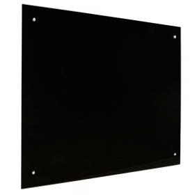 glassboard zwart 100x150 cm