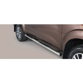 Sidebars Nissan Navara NP 300 Double Cab 2016 - Rond