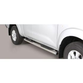 Sidebars Nissan Navara NP 300 King Cab 2016 - Rond