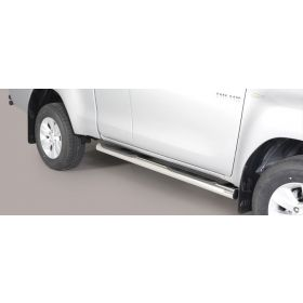 Sidebars Toyota Hilux E.C. 2016 - Rond