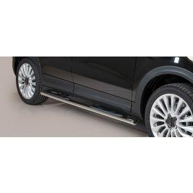 Sidebars Fiat 500 X 2015 - Ovaal