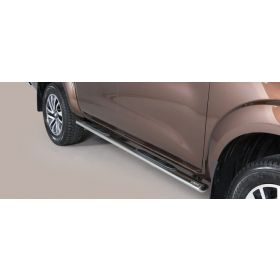 Sidebars Nissan Navara NP 300 Double Cab 2016 - Ovaal