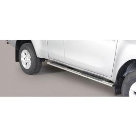 Sidebars Toyota Hilux E.C. 2016 - Ovaal