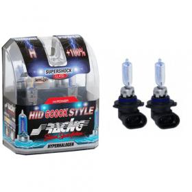 Xenonlook lampen Halogeen 'HID Style' HB3 (6000K) Hyperwhite 12V/65W, set à 2 stuks ECE-R37