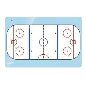bedrukt ijshockey whiteboard