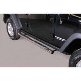 Sidebars Jeep Wrangler 2011 76mm