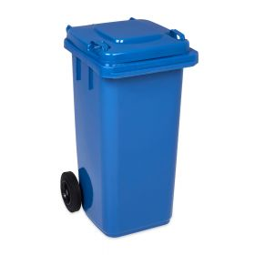 Kliko / mini container 120 liter - Blauw