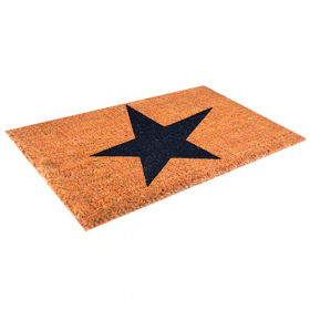 Kokosmat - ster - 40x60 cm