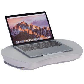 Laptop kussen grijs