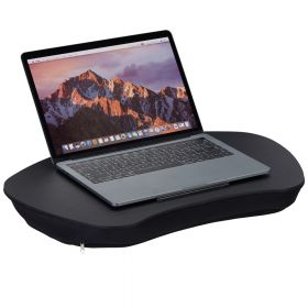 Laptop kussen - Zwart