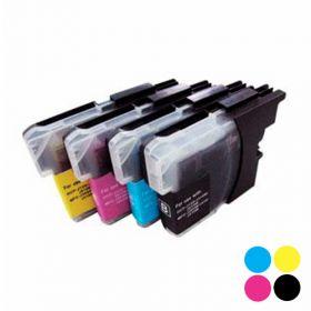 IVOL vervangende cartridge voor Brother LC-223CYMBK - Cyaan, Geel, Magenta, Zwart
