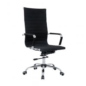 luxe zwarte bureaustoel